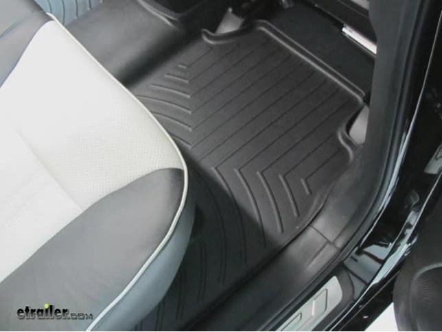 2012 kia sorento weathertech 2nd row rear auto floor mat