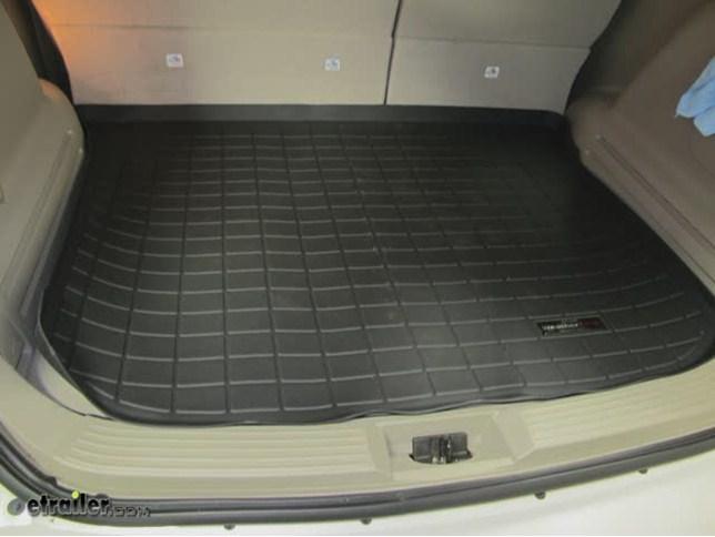 Weathertech Cargo Floor Liner Review  Ford Edge Video Etrailer Com
