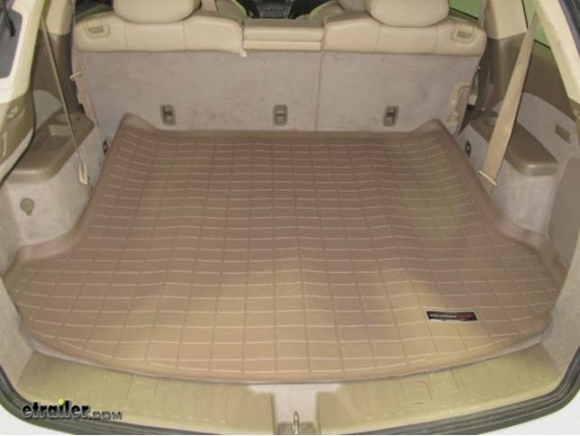 Weathertech Cargo Liner Black Weathertech Floor Mats Wt40420