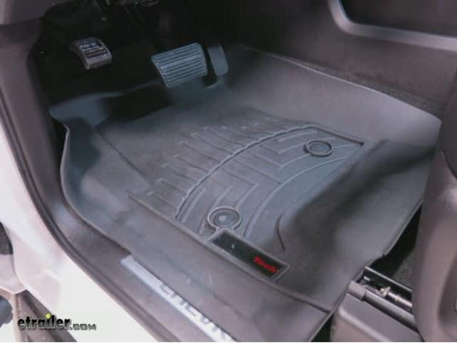 weathertech front auto floor mats review - 2016 chevrolet tahoe