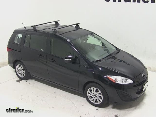 Charming Yakima Control Tower Roof Rack Installation   2013 Mazda 5 Video |  Etrailer.com