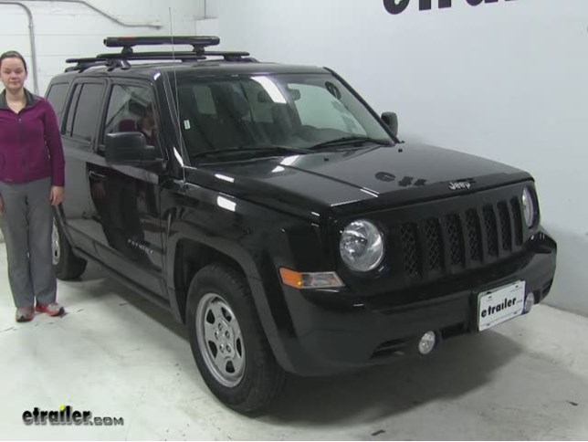 Today On Our 2017 Jeep Patriot We Re Doing A Test Fit Of The Yakima Fatcat 6 Roof Mounted Ski And Snowboard Carrier Now That Part Number Is Y03088