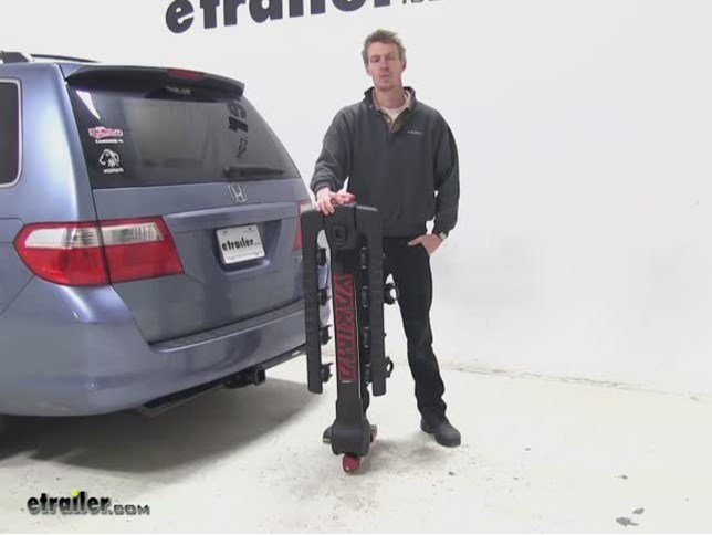 Yakima FullTilt Hitch Bike Racks Review   2005 Honda Odyssey Video |  Etrailer.com