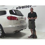 Yakima FullTilt Hitch Bike Racks Review - 2011 Buick Enclave