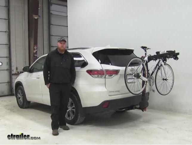 Yakima Fulltilt Hitch Bike Racks Review 2017 Toyota Highlander Video Etrailer