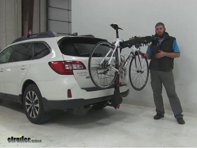 Yakima Fulltilt Hitch Bike Racks Review 2016 Subaru Outback Wagon Video Etrailer