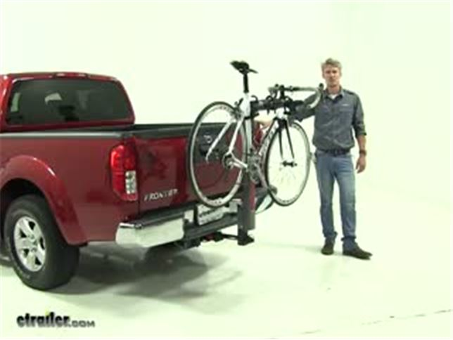 Yakima Hitch Bike Racks Review   2013 Nissan Frontier Video | Etrailer.com