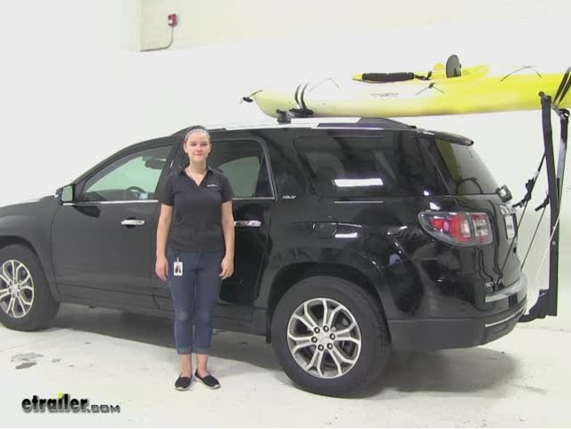 Yakima Hitch Cargo Carrier Review 2016 Gmc Acadia Video