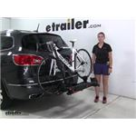 Yakima HoldUp Hitch Bike Racks Review - 2016 Buick Enclave