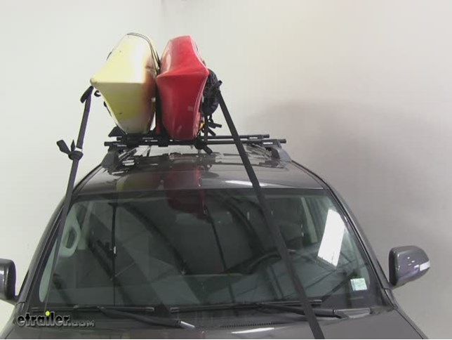 Yakima Jaylow Kayak Carrier W Tie Downs J Style