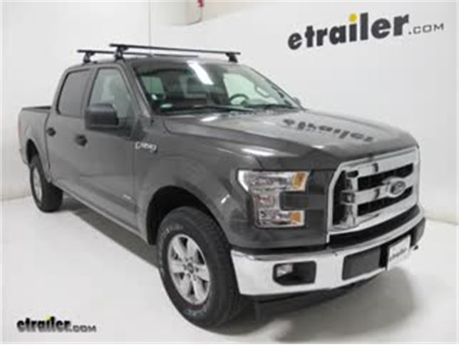 Ford F150 Rack >> Yakima Roof Rack Review 2017 Ford F 150 Video Etrailer Com