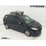 Yakima LoadWarrior Roof Cargo Basket Review - 2013 Mazda 5