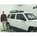 Yakima LoadWarrior Roof Cargo Carrier Review - 2013 Jeep Patriot