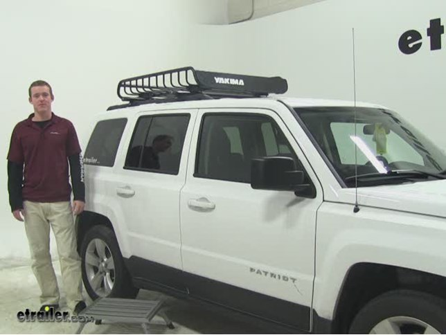 Yakima Loadwarrior Roof Cargo Carrier Review 2013 Jeep Patriot