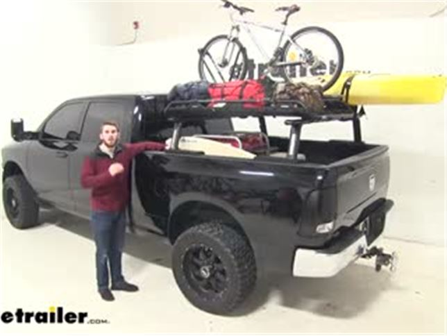Yakima Outpost Hd Mid Height Truck Bed Rack Review Video
