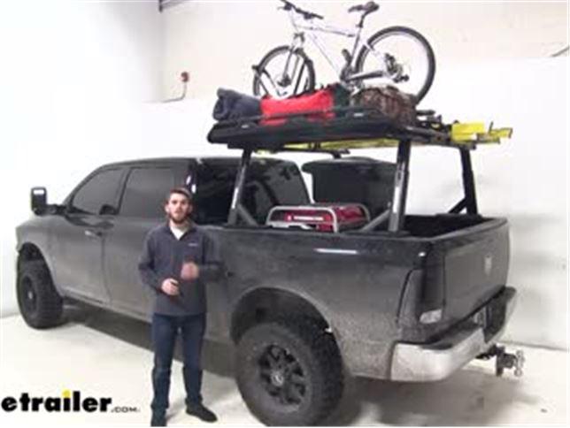 Yakima Overhaul Hd Adjustable Truck Bed Rack Review Video