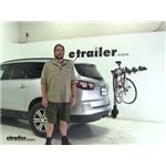 Yakima RidgeBack Hitch Bike Racks Review - 2015 Chevrolet Traverse