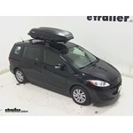Yakima RocketBox Pro 14 Rooftop Cargo Box Review - 2013 Mazda 5