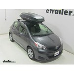 Yakima RocketBox Pro 14 Rooftop Cargo Box Review - 2014 Toyota Yaris