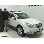 Yakima RocketBox Pro Roof Cargo Carrier Review - 2012 Subaru Outback Wagon