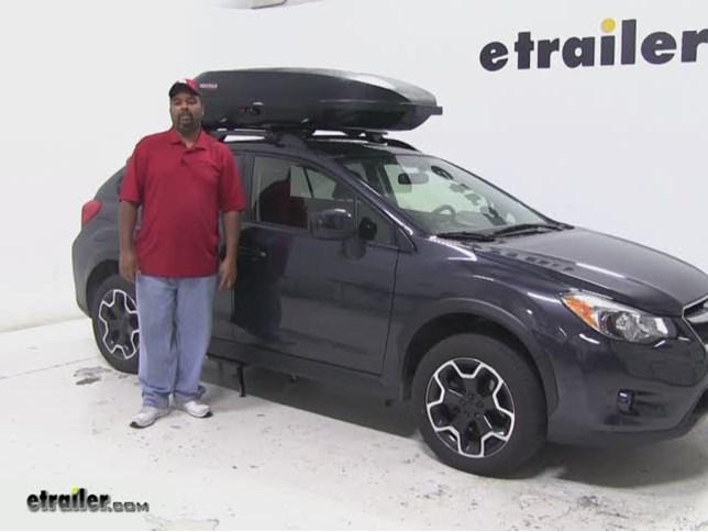 Yakima Rocketbox Pro Roof Cargo Carrier Review 2017 Subaru Xv Crosstrek Video Etrailer
