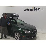 Yakima RocketBox-Pro Roof Cargo Carrier Review - 2015 Chevrolet Cruze