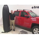 Yakima RocketBox Pro Roof Cargo Carrier Review - 2015 Chevrolet Silverado 1500