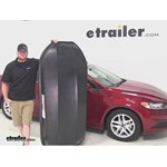 Yakima RocketBox Pro Roof Cargo Carrier Review - 2015 Ford Fusion