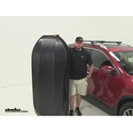 Yakima RocketBox Pro Roof Cargo Carrier Review - 2015 Nissan Rogue