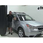 Yakima RocketBox Pro Roof Cargo Carrier Review - 2015 Subaru Forester
