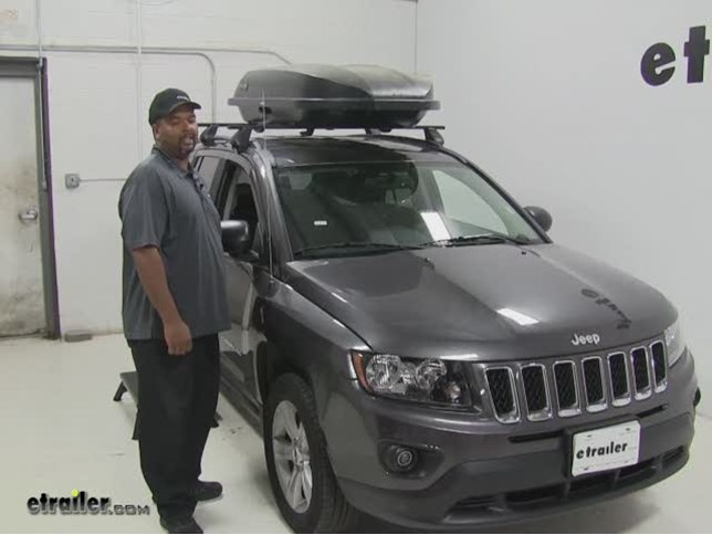 Yakima Rocketbox Pro Roof Cargo Carrier Review 2016 Jeep Compass