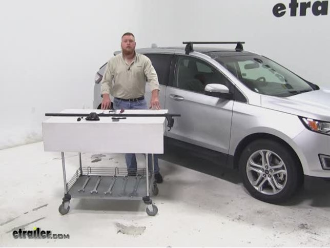 Yakima Roof Rack Review  Ford Edge