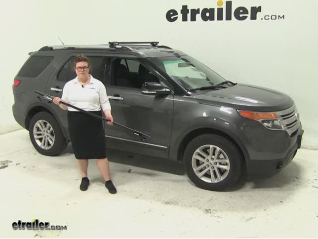 Yakima roof rack review 2015 ford explorer video etrailer sciox Image collections