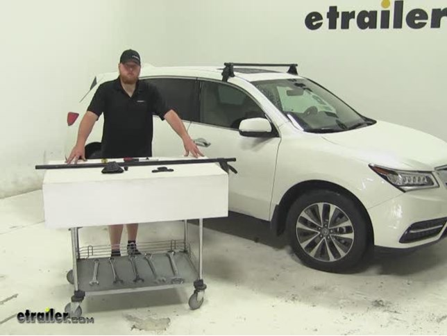 acura mdx roof rack etrailer com rh etrailer com Acura MDX Trunk Acura MDX Interior