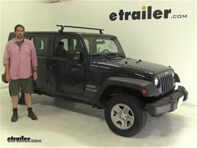 Yakima Roof Rack Review   2017 Jeep Wrangler Unlimited Video | Etrailer.com