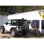 Yakima  Spare Tire Bike Racks Review - 2013 Jeep Wrangler