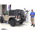 Yakima  Spare Tire Bike Racks Review - 2016 Jeep wrangler