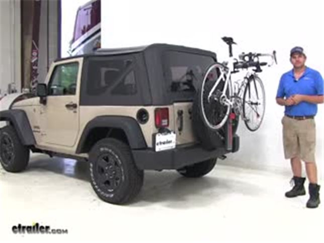 Jeep Wrangler Bike Rack >> Yakima Spareride 2 Bike Rack Spare Tire Mount Folding Arms