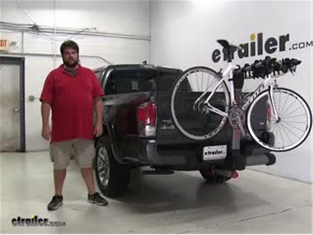 Yakima Swingdaddy Hitch Bike Racks Review 2016 Toyota Tacoma