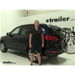 Yakima  Trunk Bike Racks Review - 2008 Hyundai Santa Fe