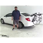 Yakima  Trunk Bike Racks Review - 2012 Honda Civic