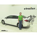Yakima  Trunk Bike Racks Review - 2013 Honda Civic