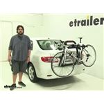 Yakima  Trunk Bike Racks Review - 2013 Toyota Corolla
