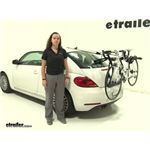 Yakima  Trunk Bike Racks Review - 2013 Volkswagen Beetle