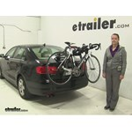 Yakima  Trunk Bike Racks Review - 2013 Volkswagen Jetta