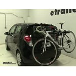 Yakima  Trunk Bike Racks Review - 2014 Chevrolet Spark