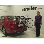 Yakima  Trunk Bike Racks Review - 2014 Toyota Corolla