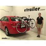Yakima  Trunk Bike Racks Review - 2015 Chevrolet Cruze