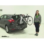 Yakima  Trunk Bike Racks Review - 2015 Ford Focus Hatchback