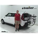 Yakima  Trunk Bike Racks Review - 2015 Kia Soul